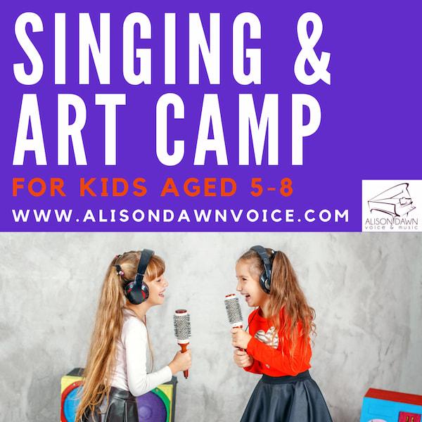 Alison Dawn Singing and Art Camp