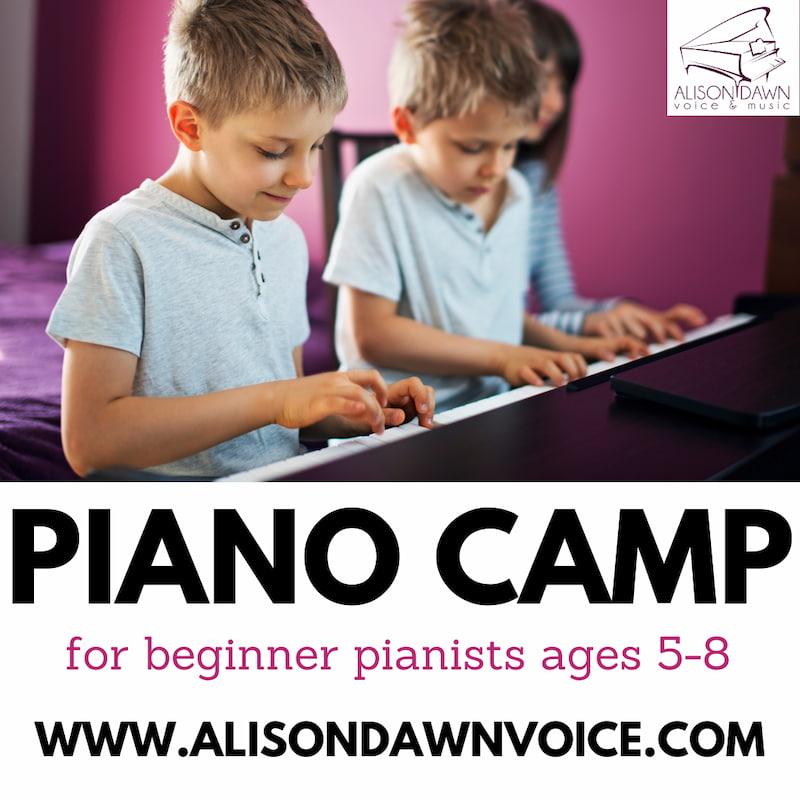 Alison Dawn Piano Camp
